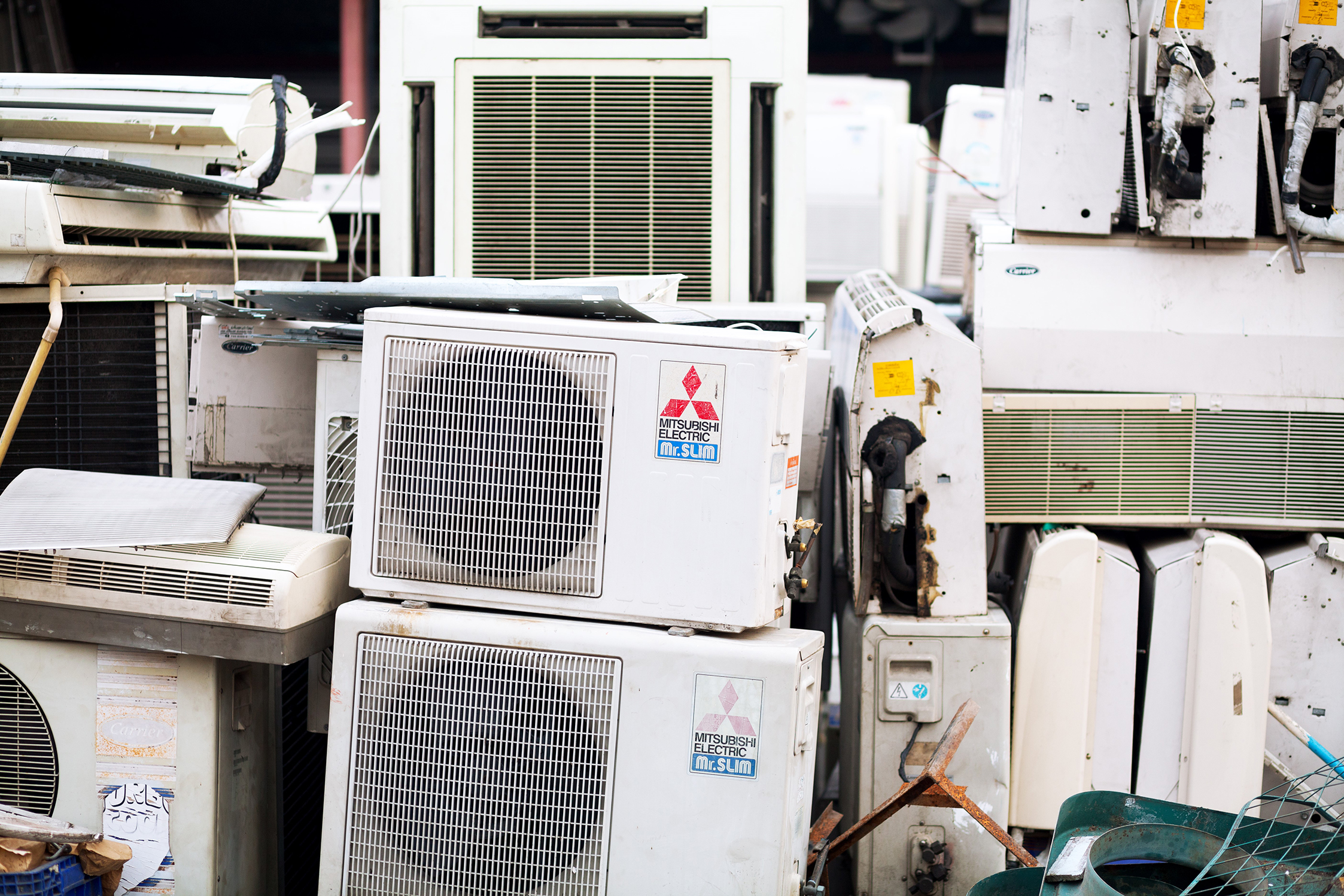 Air Conditioner Landfill